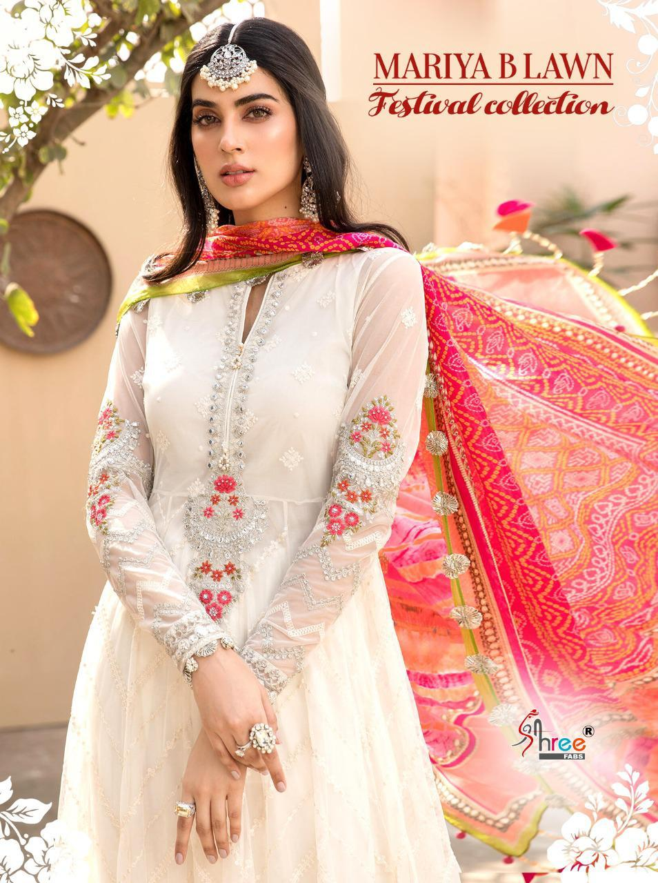 Shree Maria B Lawn Festival Collection collection 1