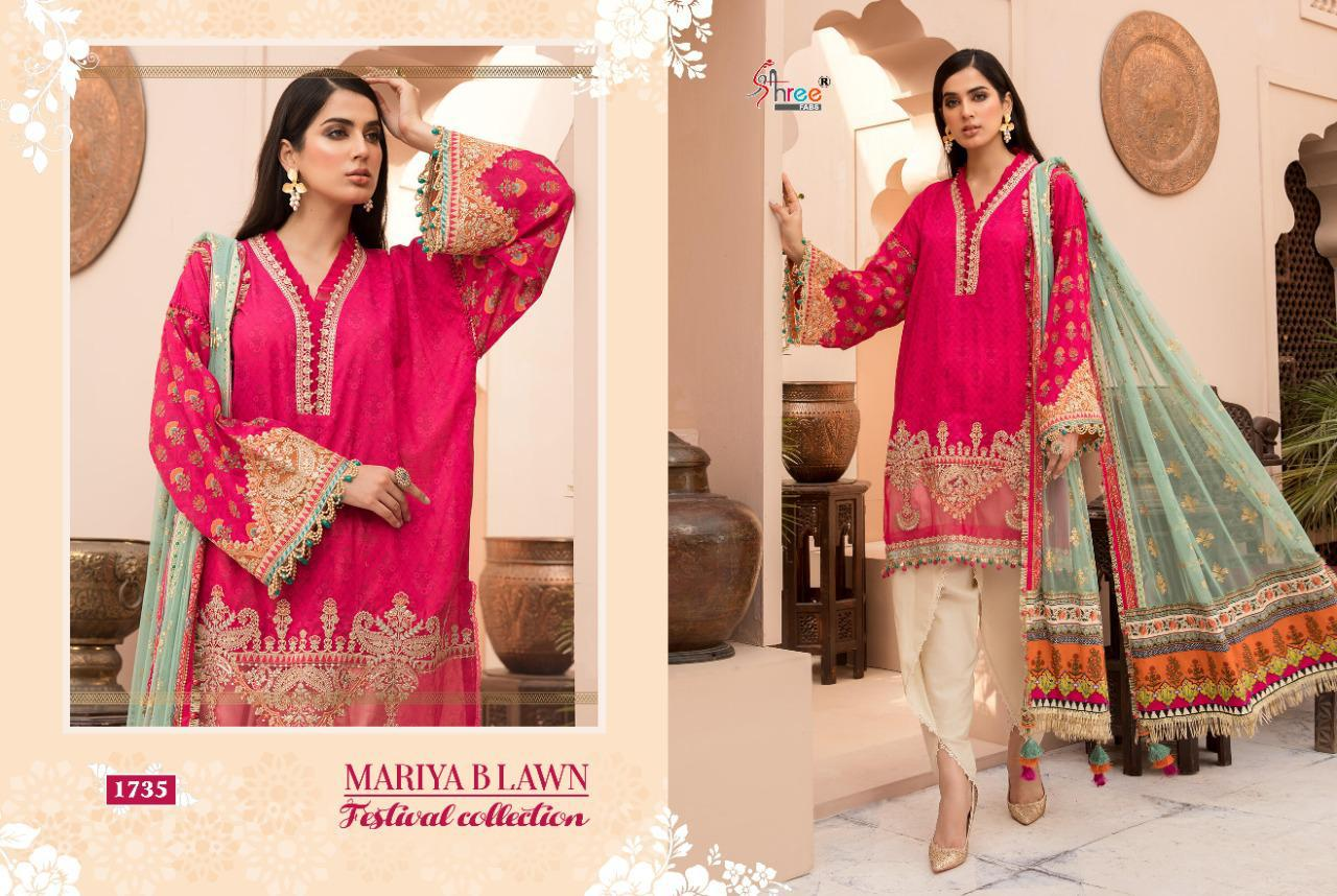 Shree Maria B Lawn Festival Collection collection 4