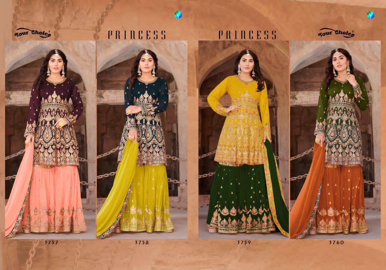Your Choice Princess Heavy Georgette collection 5