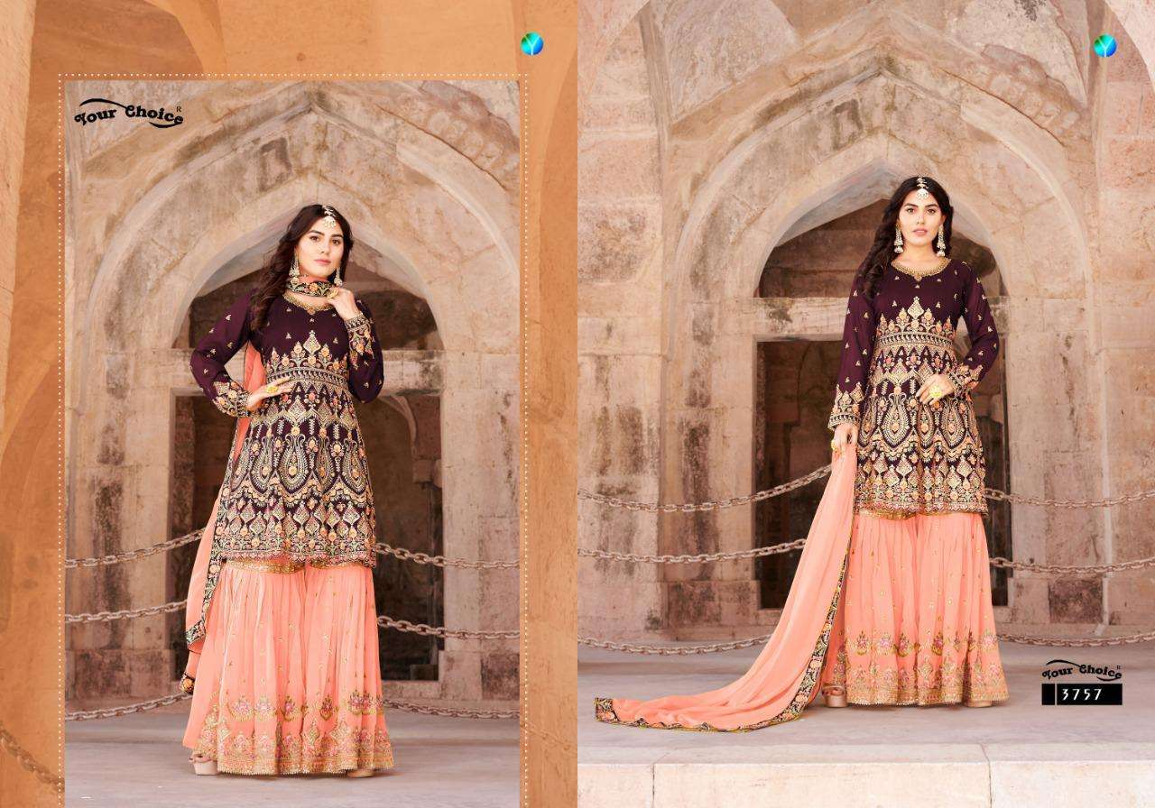 Your Choice Princess Heavy Georgette collection 4