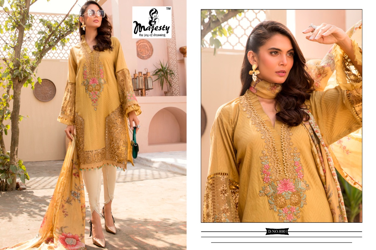 Majesty Maria B Lawn 8 collection 4