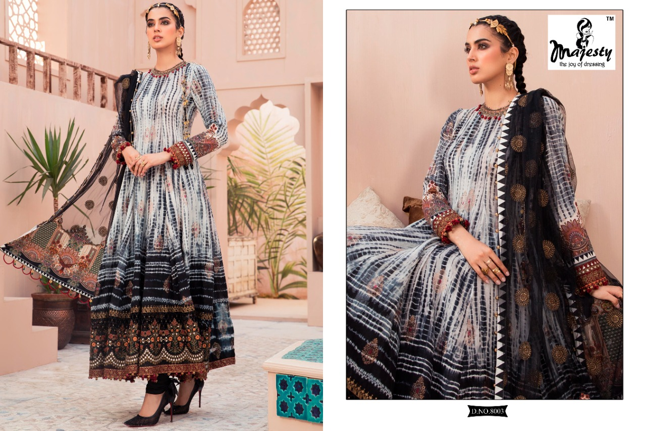 Majesty Maria B Lawn 8 collection 7