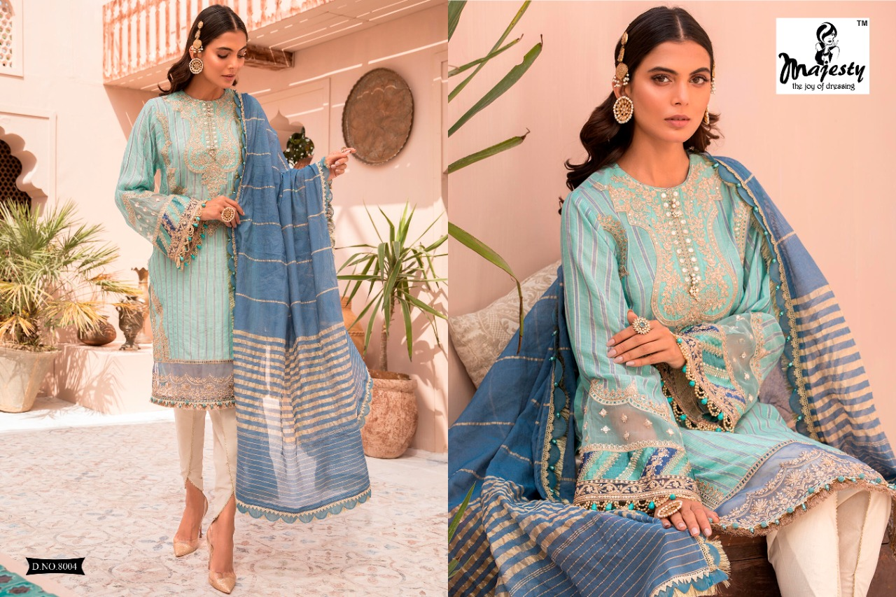 Majesty Maria B Lawn 8 collection 1