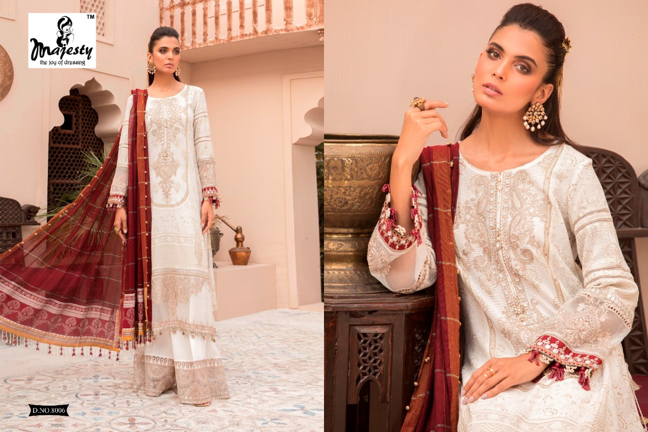 Majesty Maria B Lawn 8 collection 5