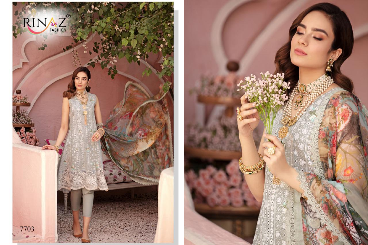 Rinaz Nureh Vol 3 Heavy Embroidery collection 5