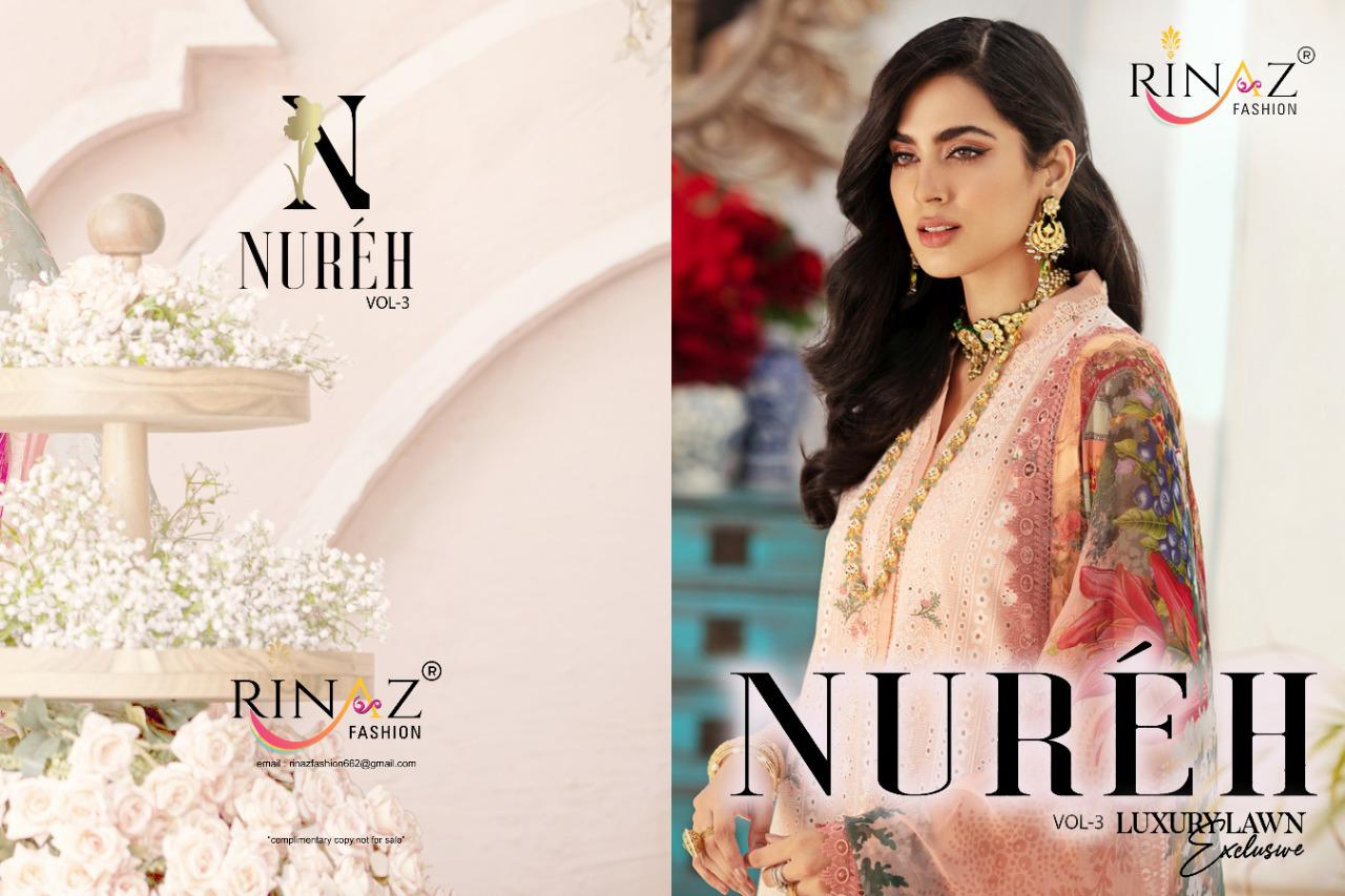 Rinaz Nureh Vol 3 Heavy Embroidery collection 8