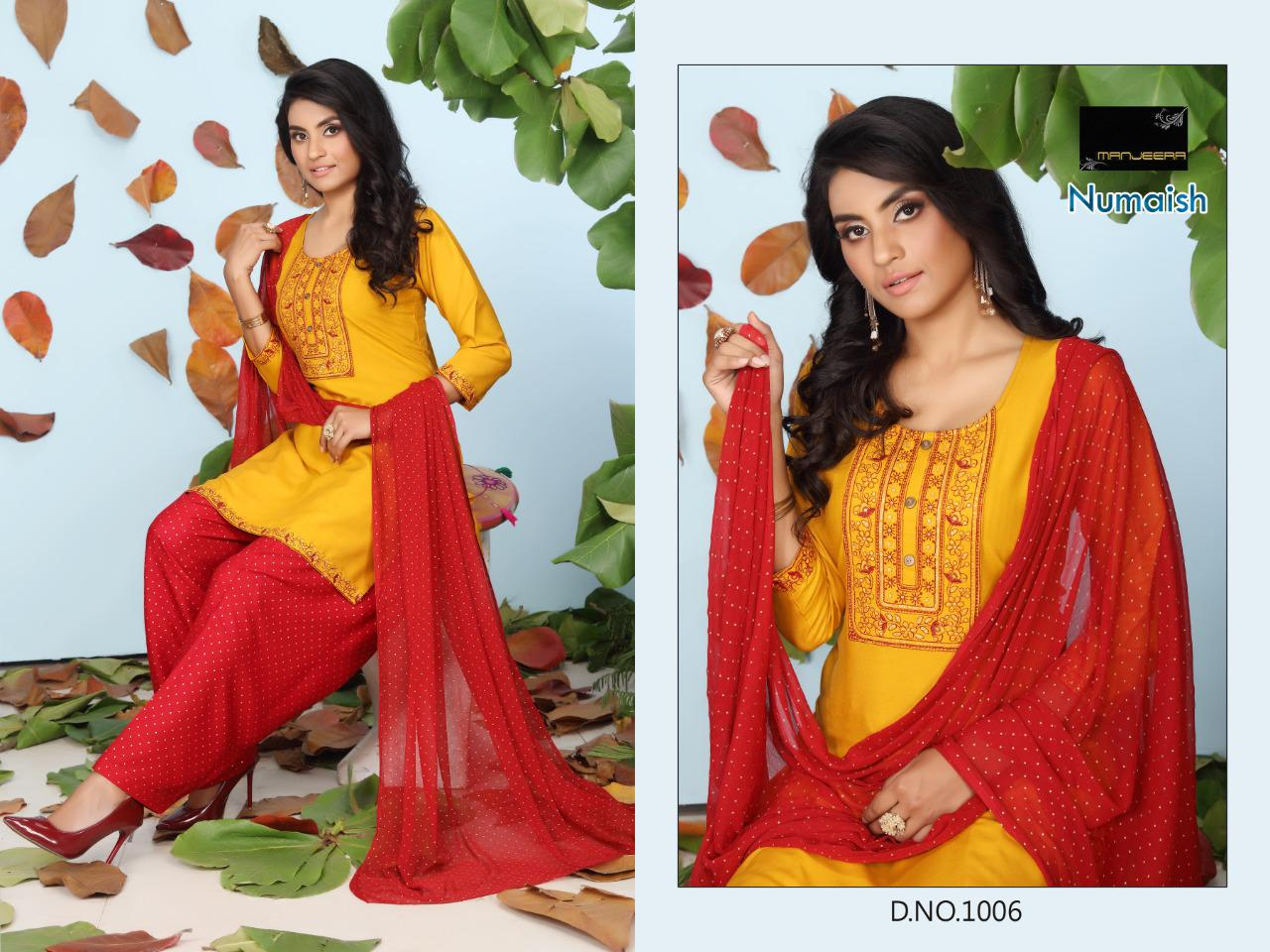 Numaish Rayon Sequence Work collection 9