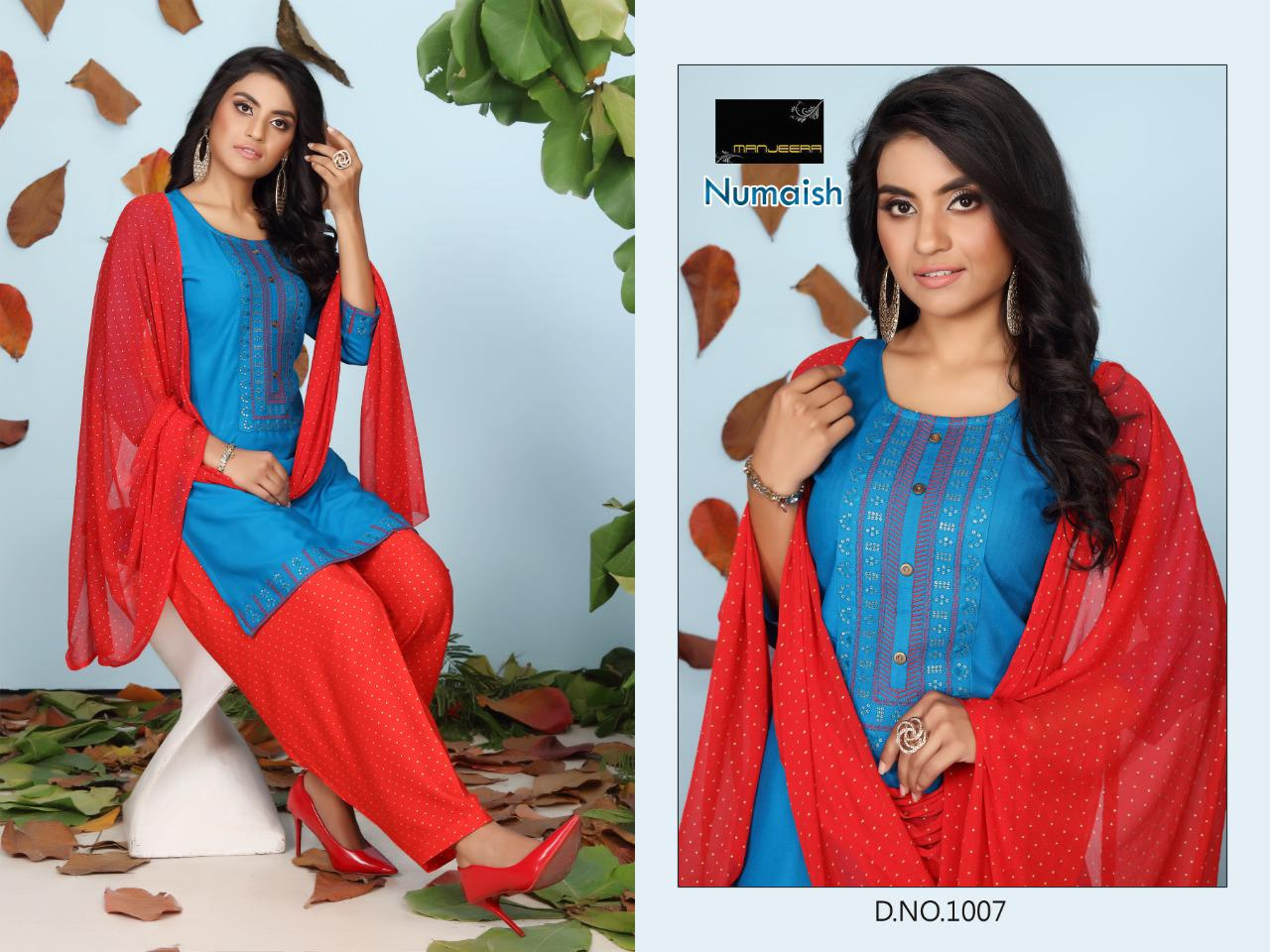 Numaish Rayon Sequence Work collection 4