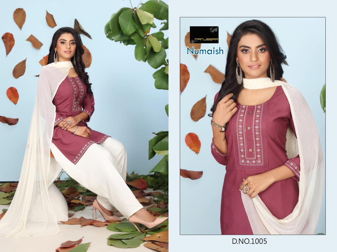 Numaish Rayon Sequence Work collection 2