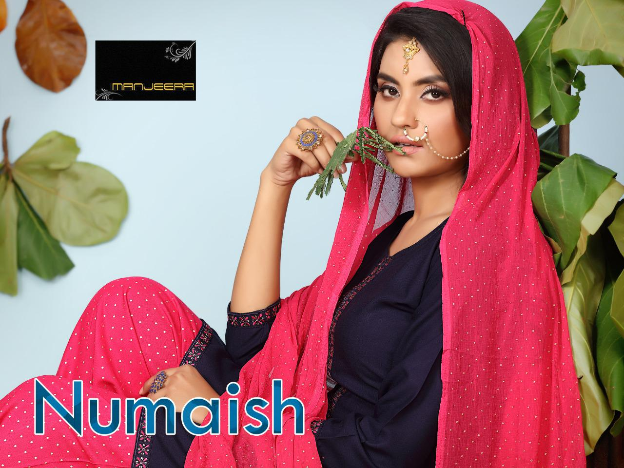 Numaish Rayon Sequence Work collection 1