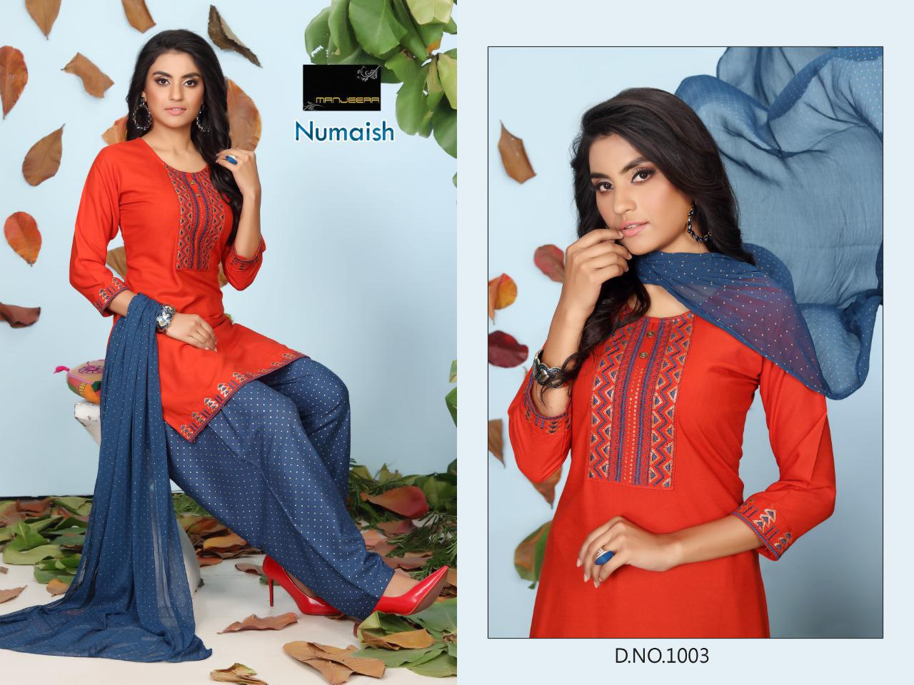 Numaish Rayon Sequence Work collection 6