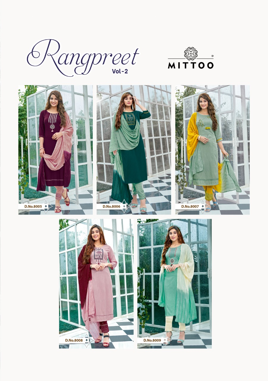 Mittoo Rangpreet Vol 2 collection 2