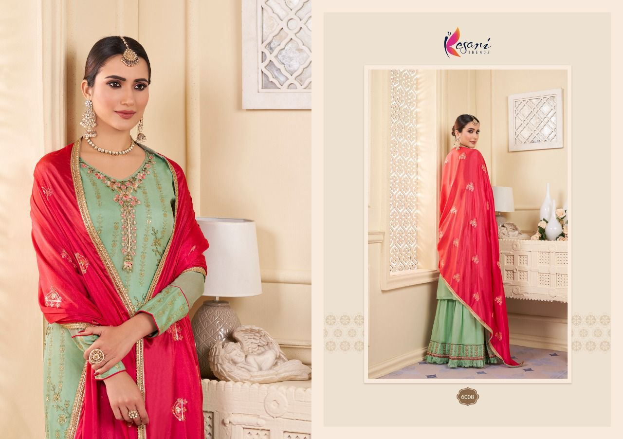 Kesari Karwa Vol 2 Sequence Embroidery collection 4