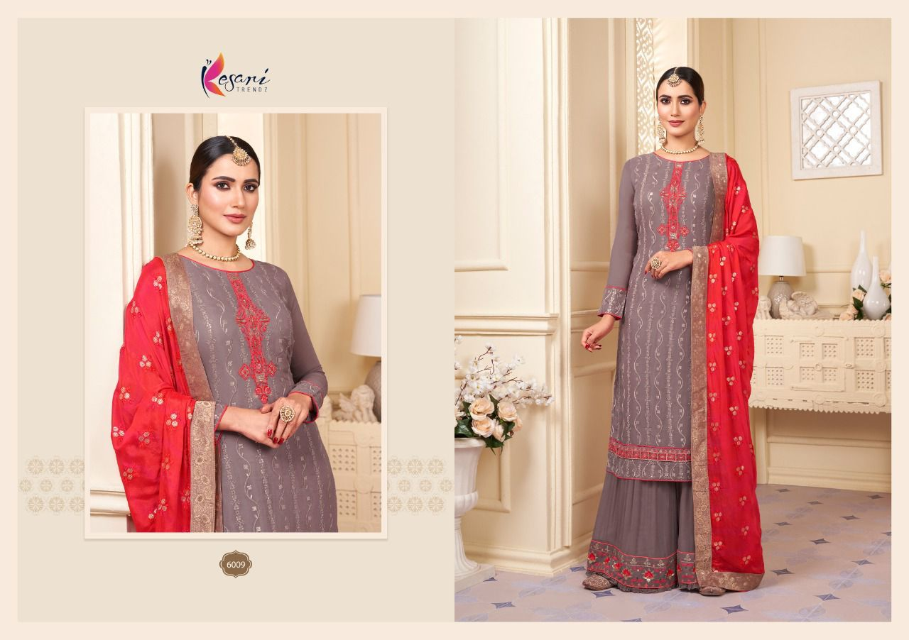 Kesari Karwa Vol 2 Sequence Embroidery collection 5