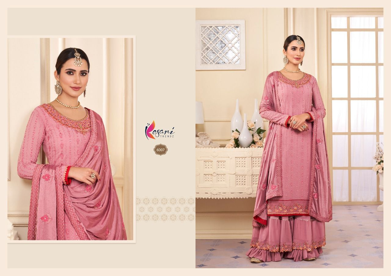 Kesari Karwa Vol 2 Sequence Embroidery collection 1