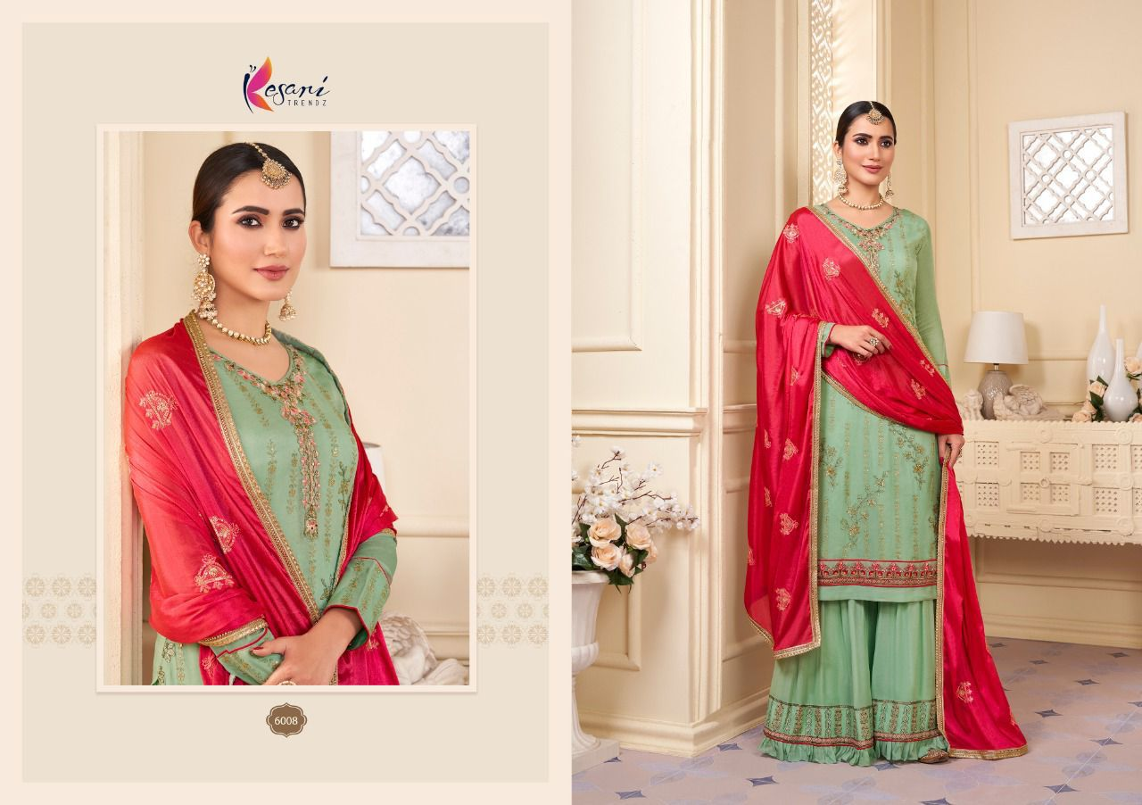 Kesari Karwa Vol 2 Sequence Embroidery collection 6
