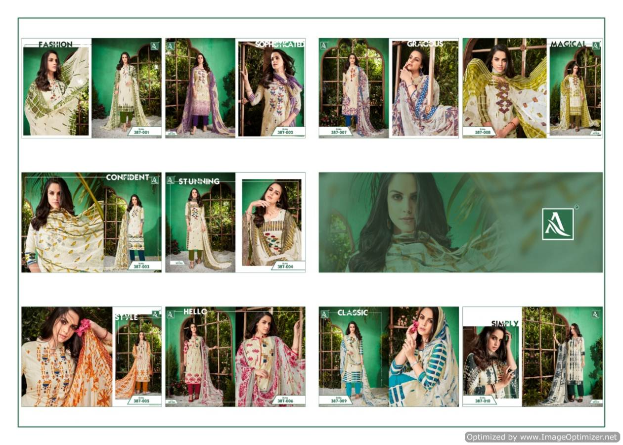 Alok White Beauty collection 6