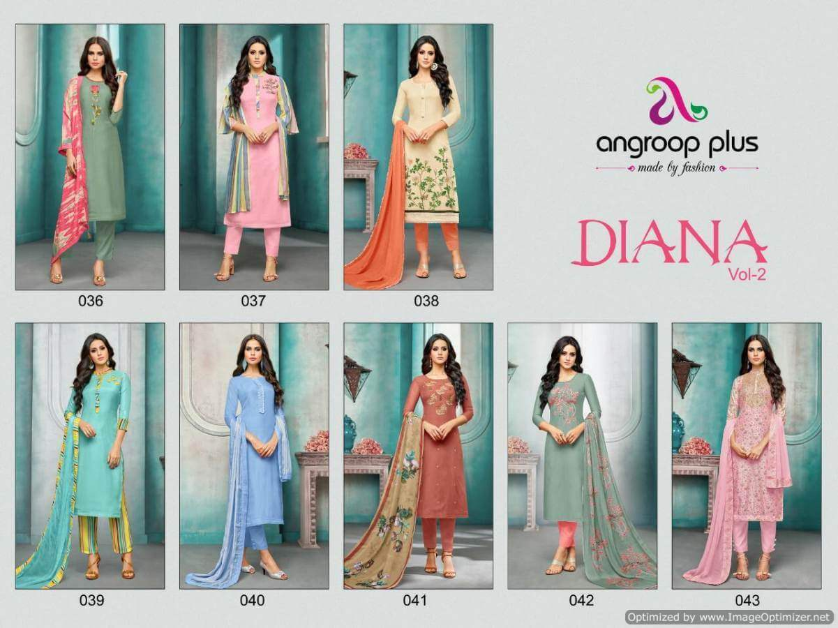 Angroop Diana 2 collection 2