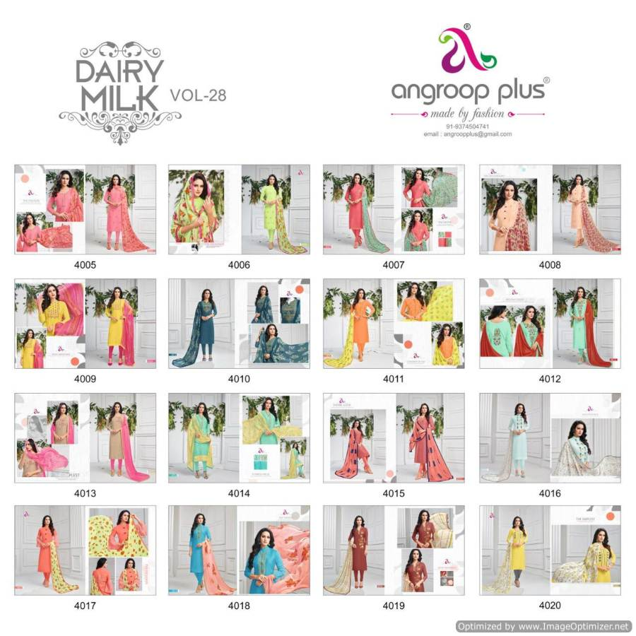 Angroop Plus Dairy Milk 28 collection 12
