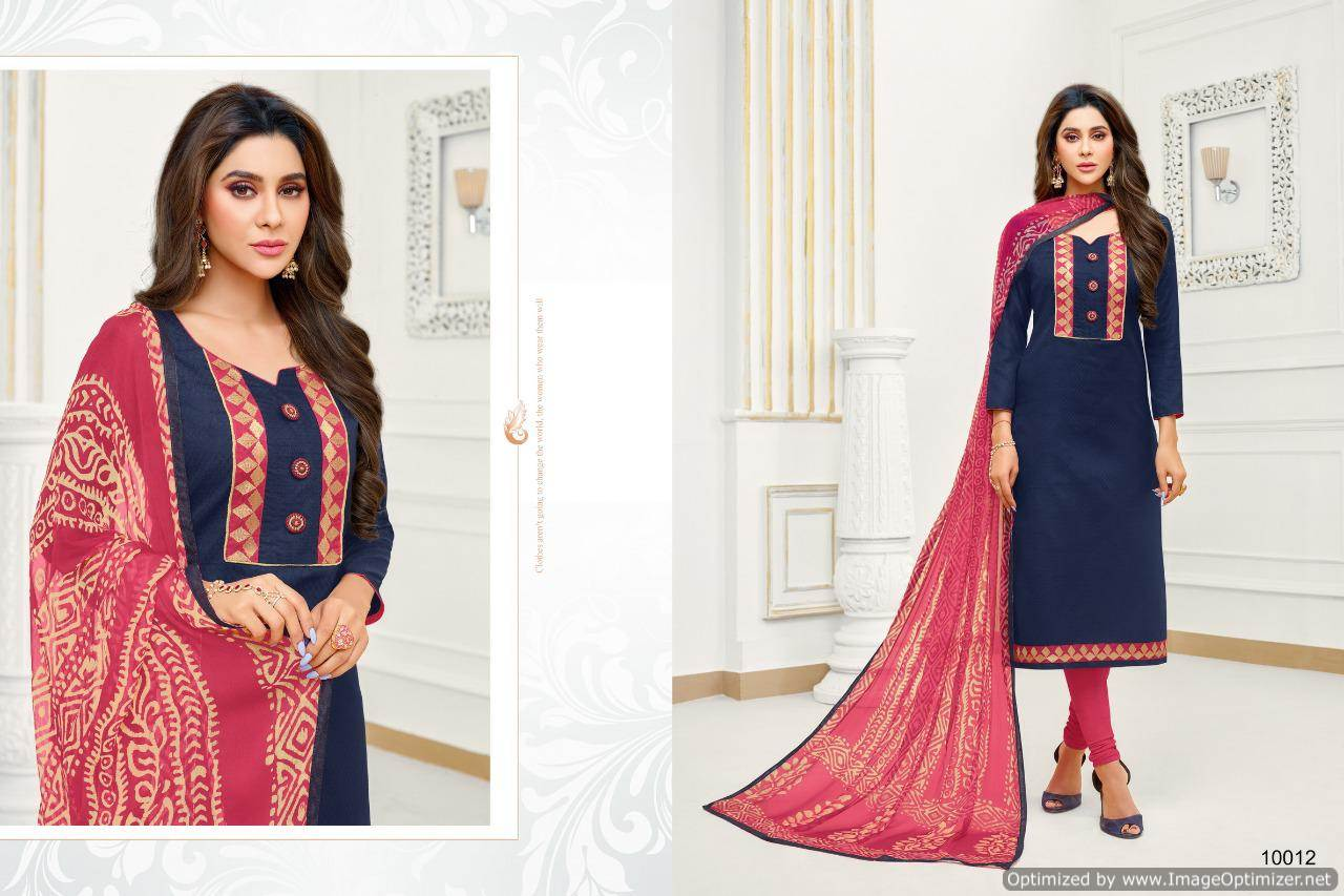 Shagun Autograph 10 Cotton Ladies Suits Catalog collection 13