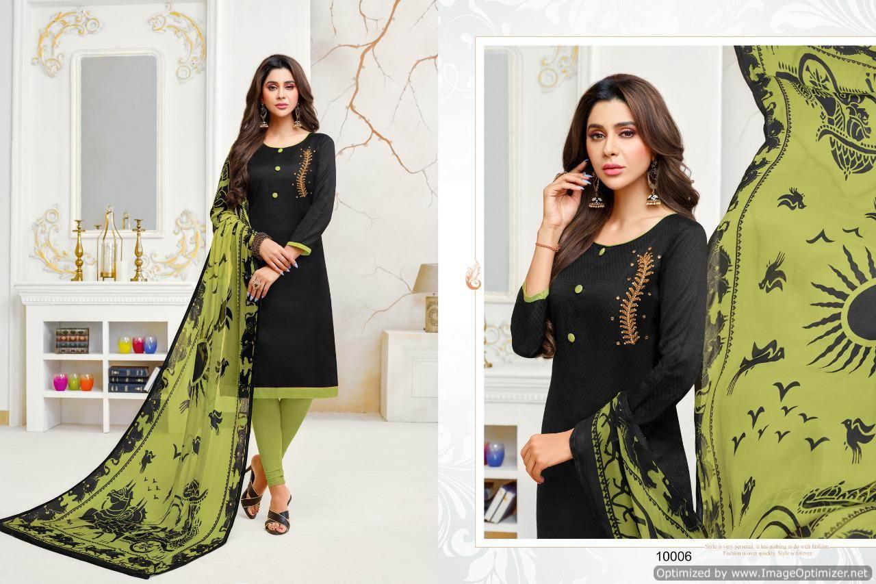 Shagun Autograph 10 Cotton Ladies Suits Catalog collection 12