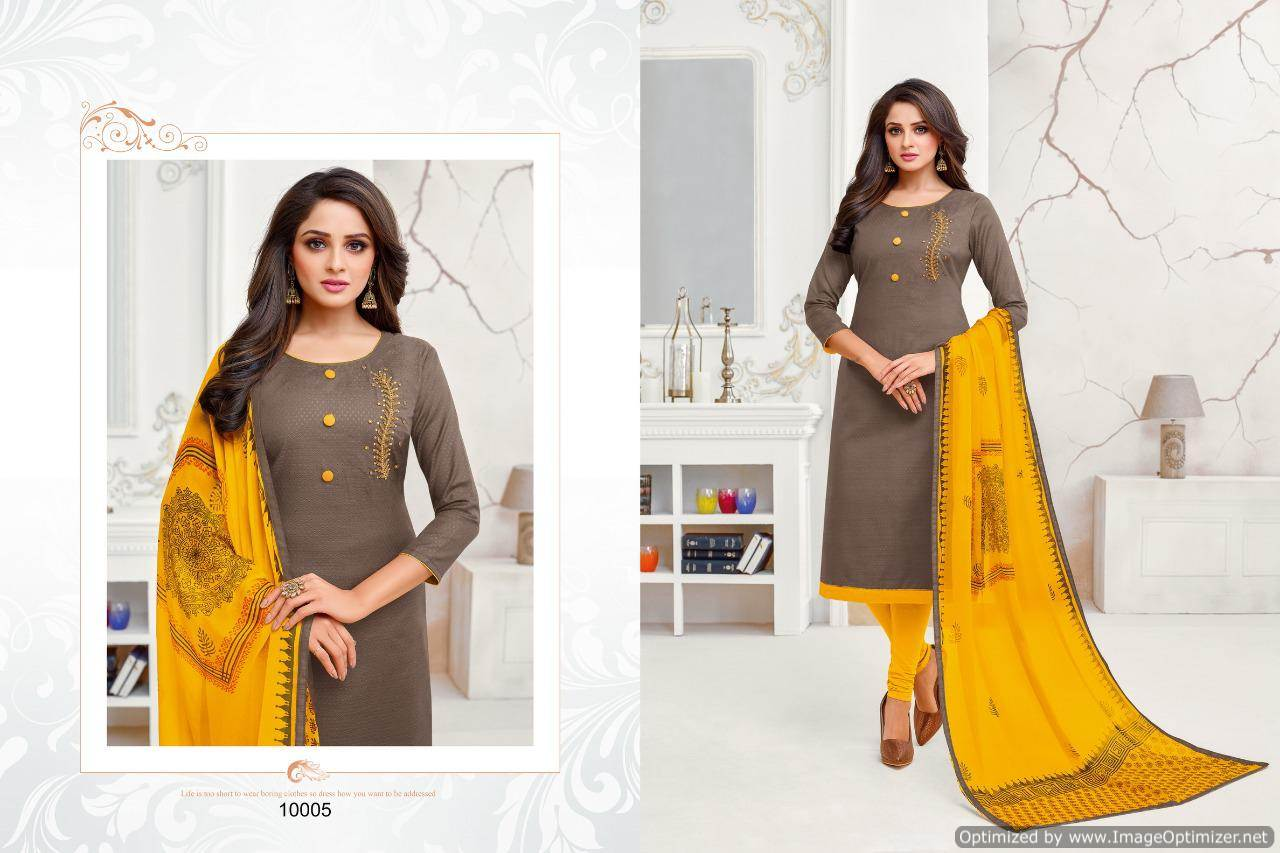 Shagun Autograph 10 Cotton Ladies Suits Catalog collection 11