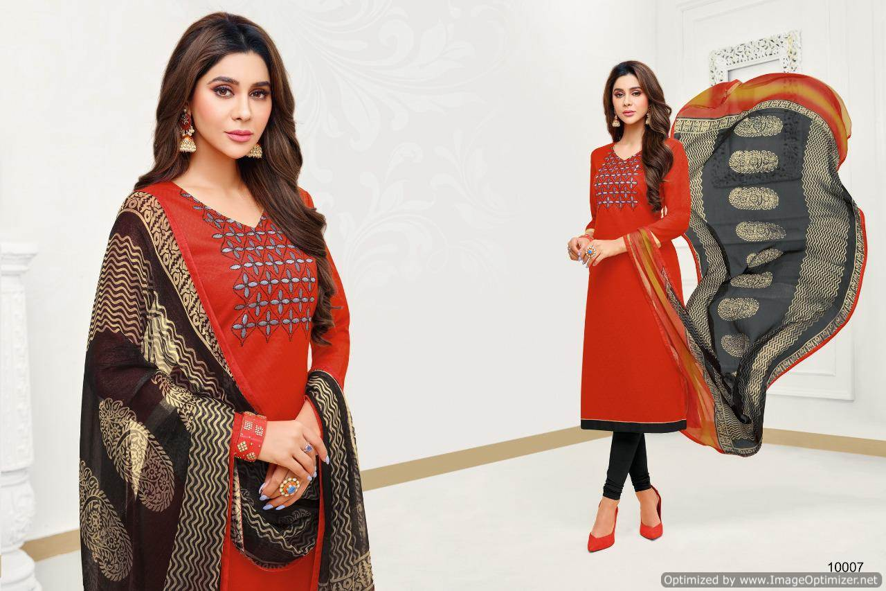 Shagun Autograph 10 Cotton Ladies Suits Catalog collection 10