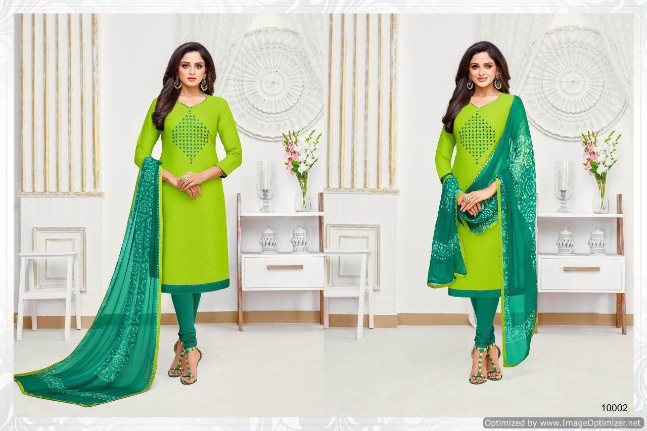 Shagun Autograph 10 Cotton Ladies Suits Catalog collection 9