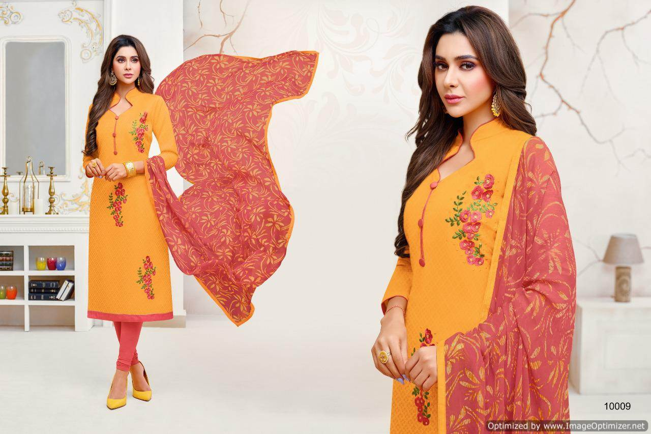 Shagun Autograph 10 Cotton Ladies Suits Catalog collection 7