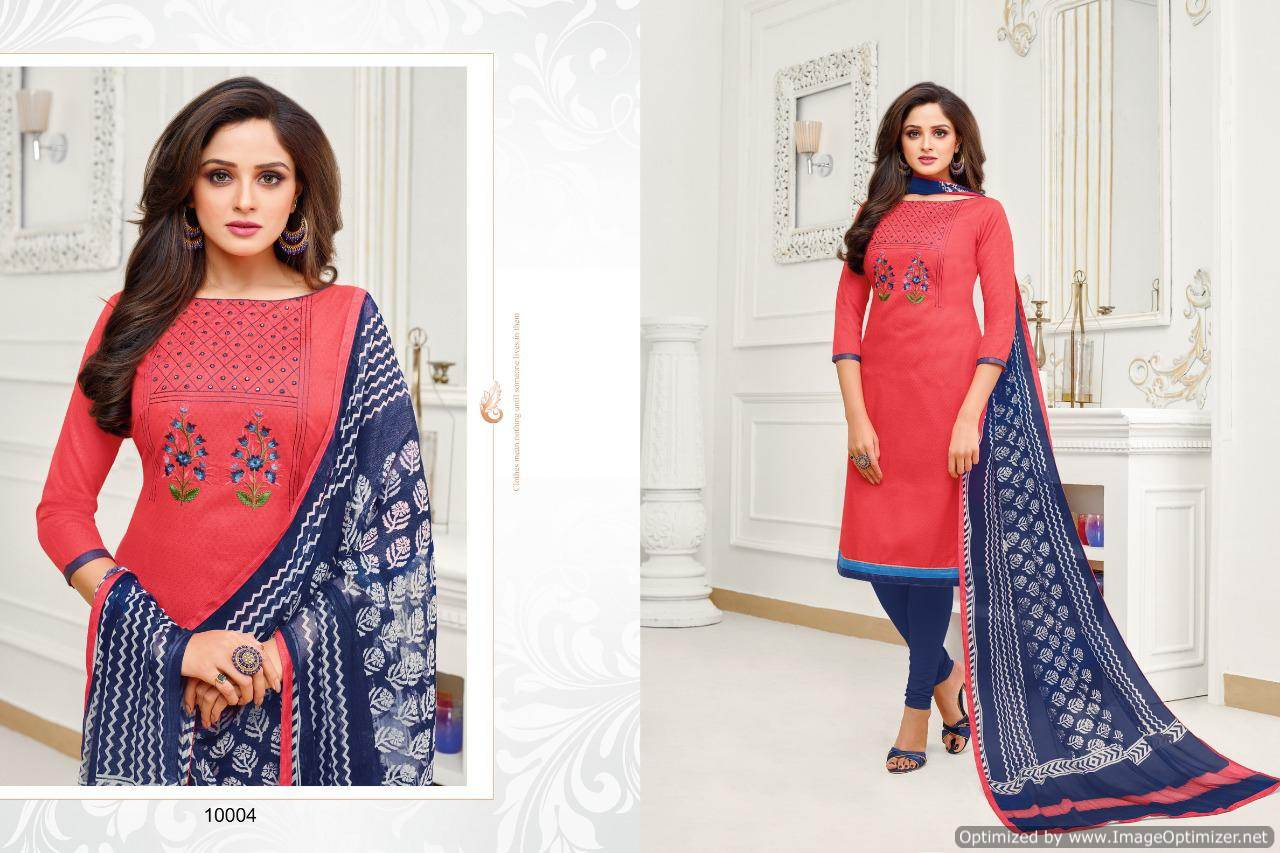 Shagun Autograph 10 Cotton Ladies Suits Catalog collection 4