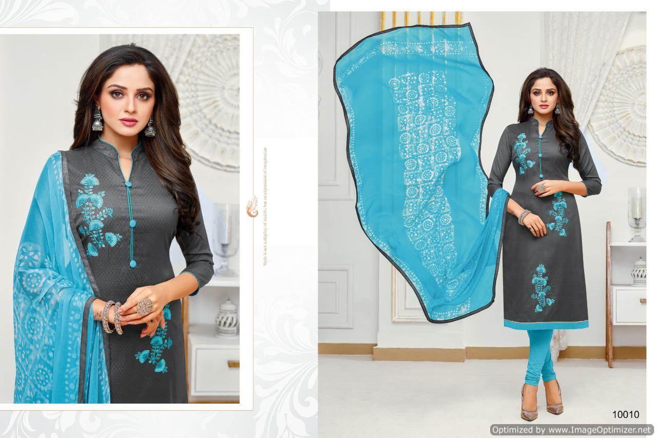 Shagun Autograph 10 Cotton Ladies Suits Catalog collection 3