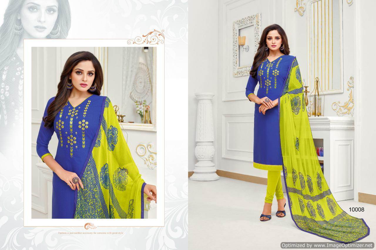 Shagun Autograph 10 Cotton Ladies Suits Catalog collection 2