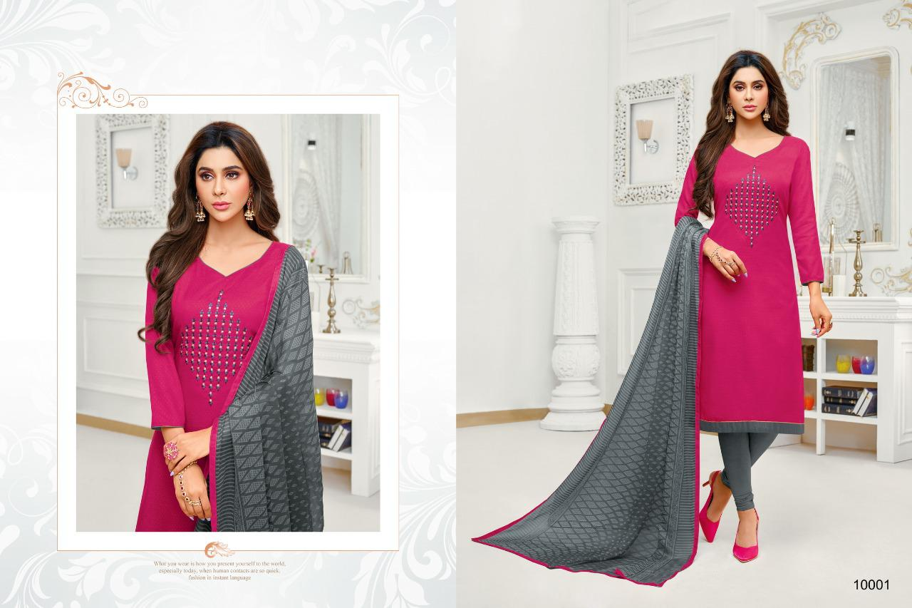 Shagun Autograph 10 Cotton Ladies Suits Catalog collection 14