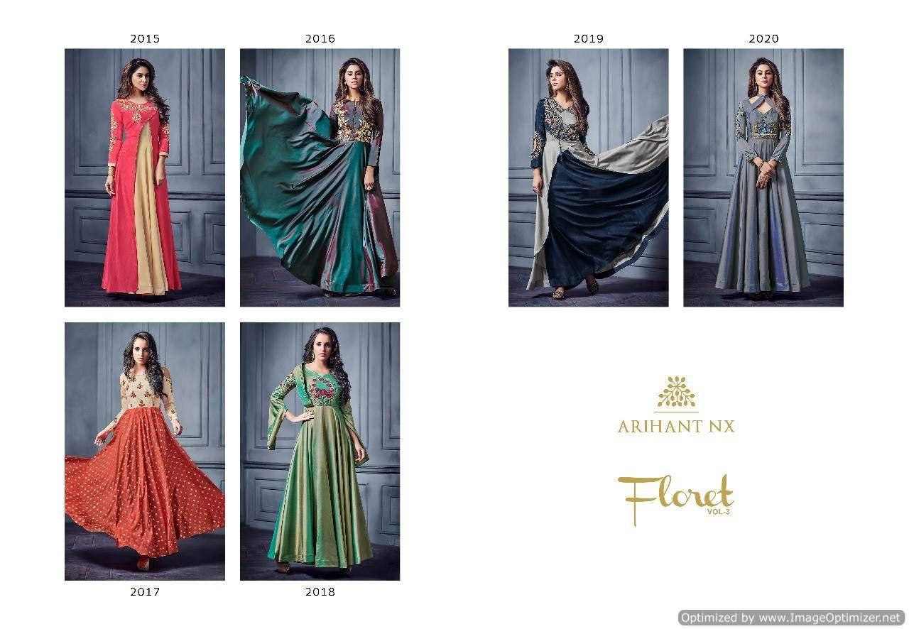 Arihant Floret Vol 3 collection 1
