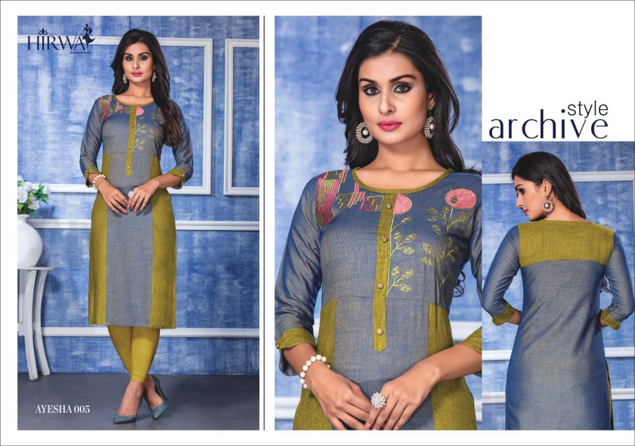 Hirwa Ayesha collection 4