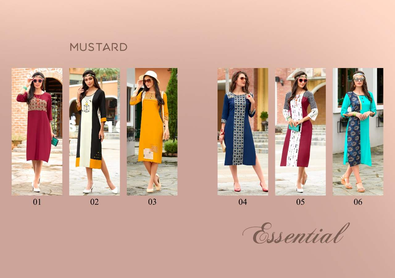 Mustard Essential collection 3