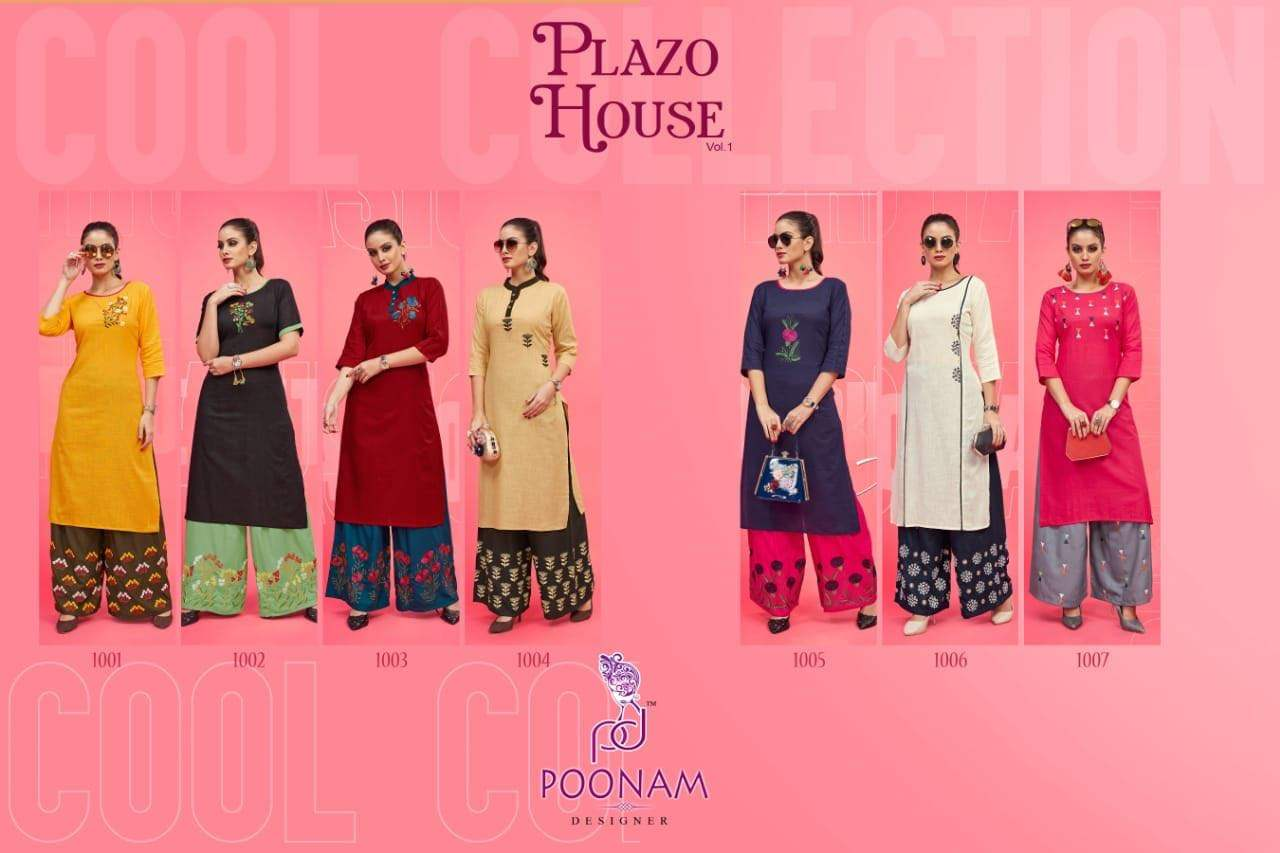 Poonam Designer Plazo House collection 6