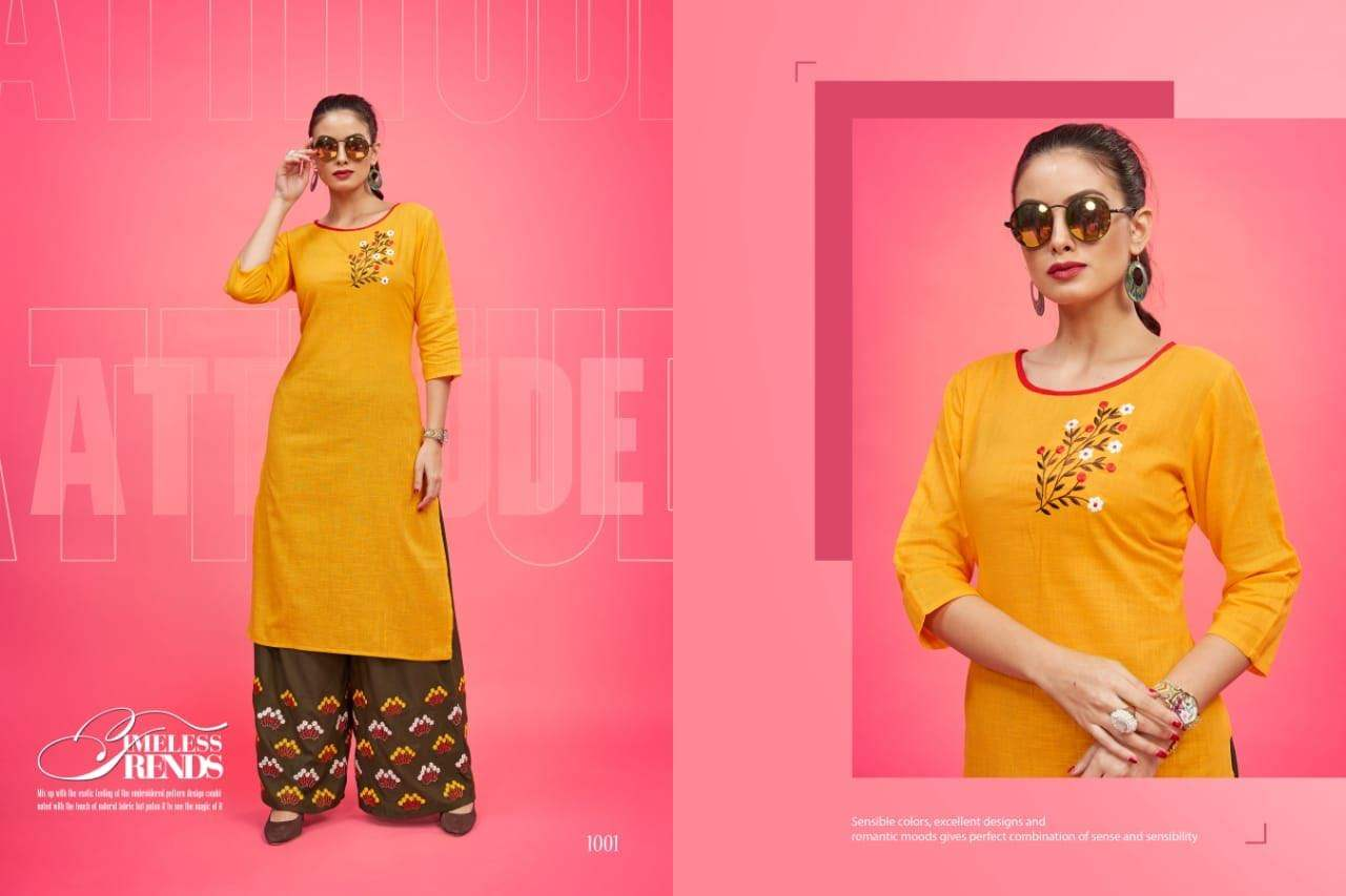 Poonam Designer Plazo House collection 5