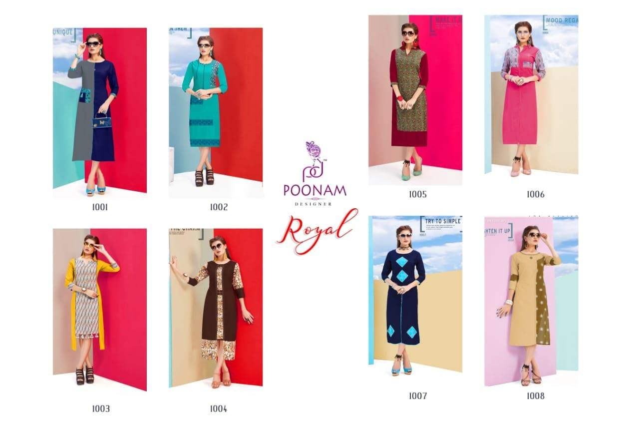Poonam Designer Royal collection 2