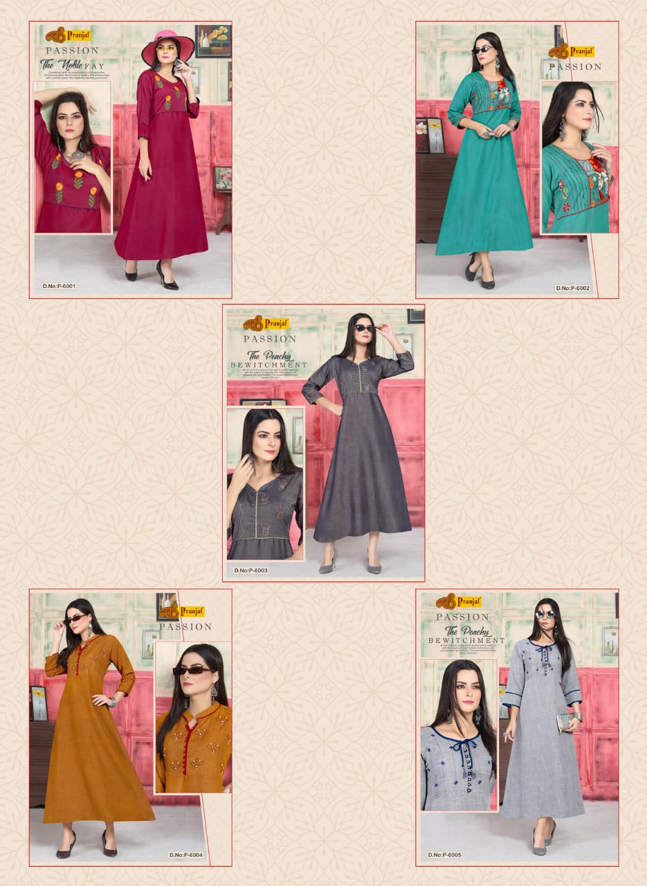 Pranjal Passion Vol 6 collection 6