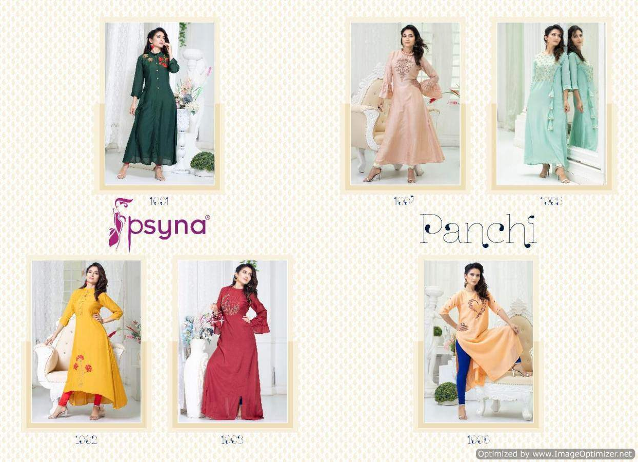 Psyna Panchi collection 3