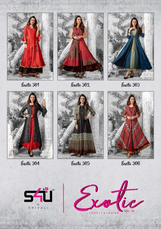 S4U Exotic Vol 3 collection 1