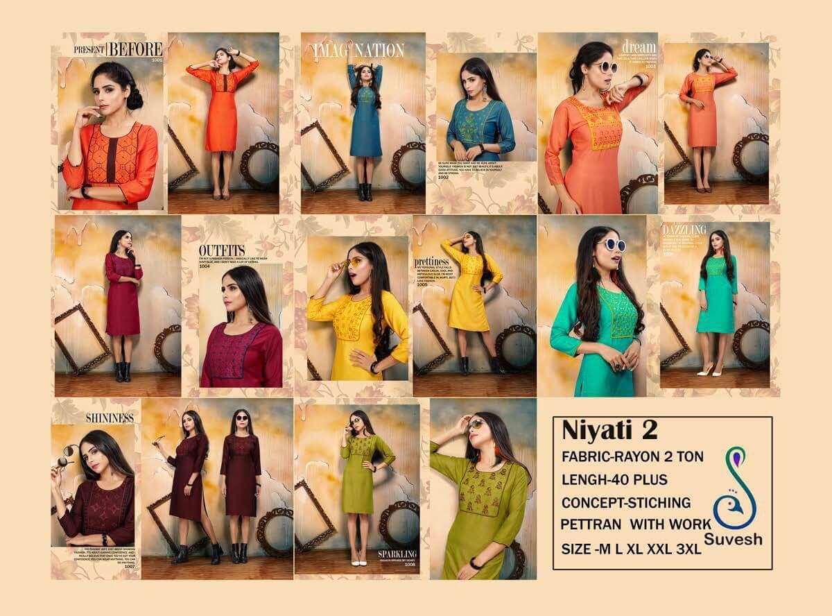 Suvesh Niyati Vol 2 collection 1