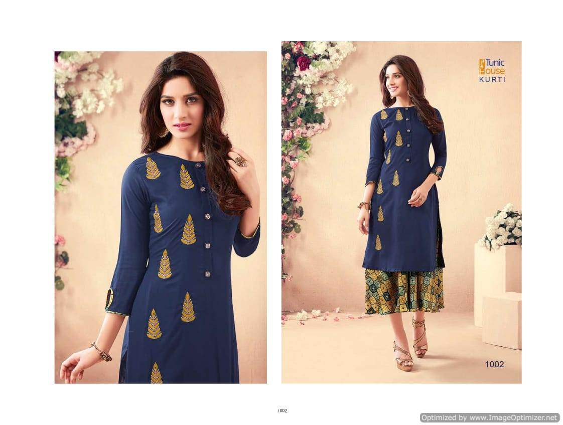 Swarna Pankh 2 Tunic House collection 1