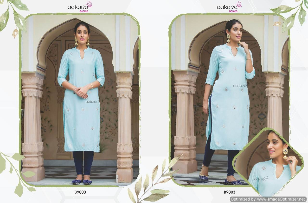 Aakara Basics 9 collection 1