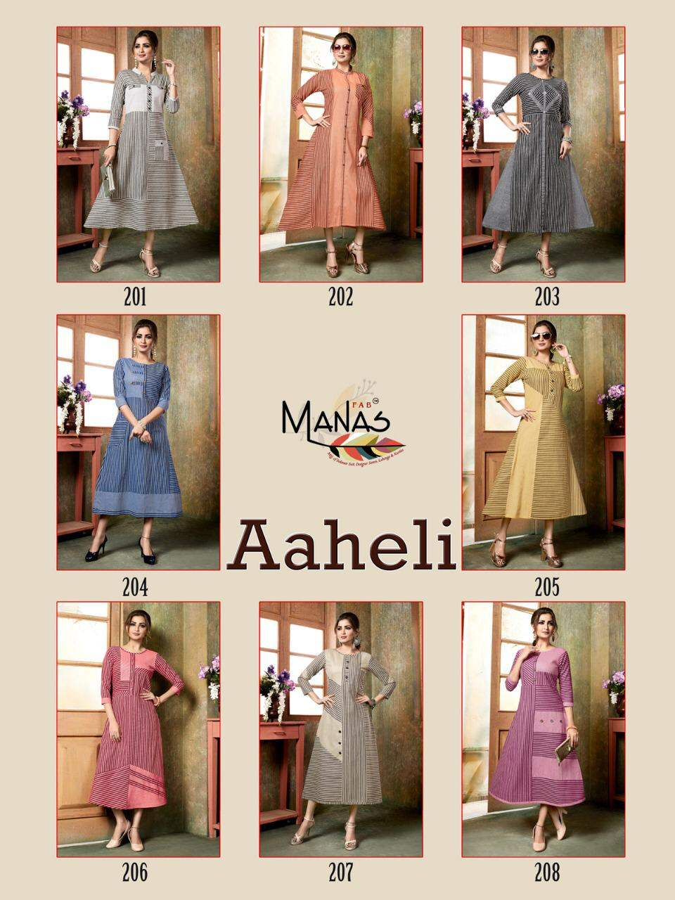 Aheli By Manas collection 1