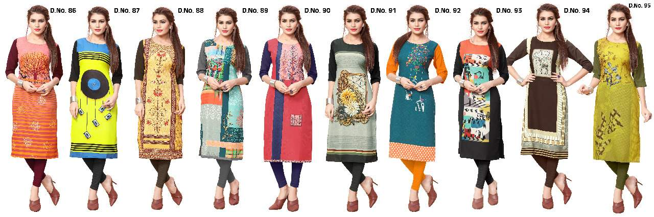 Ethnic Crepe Vol 10 collection 9