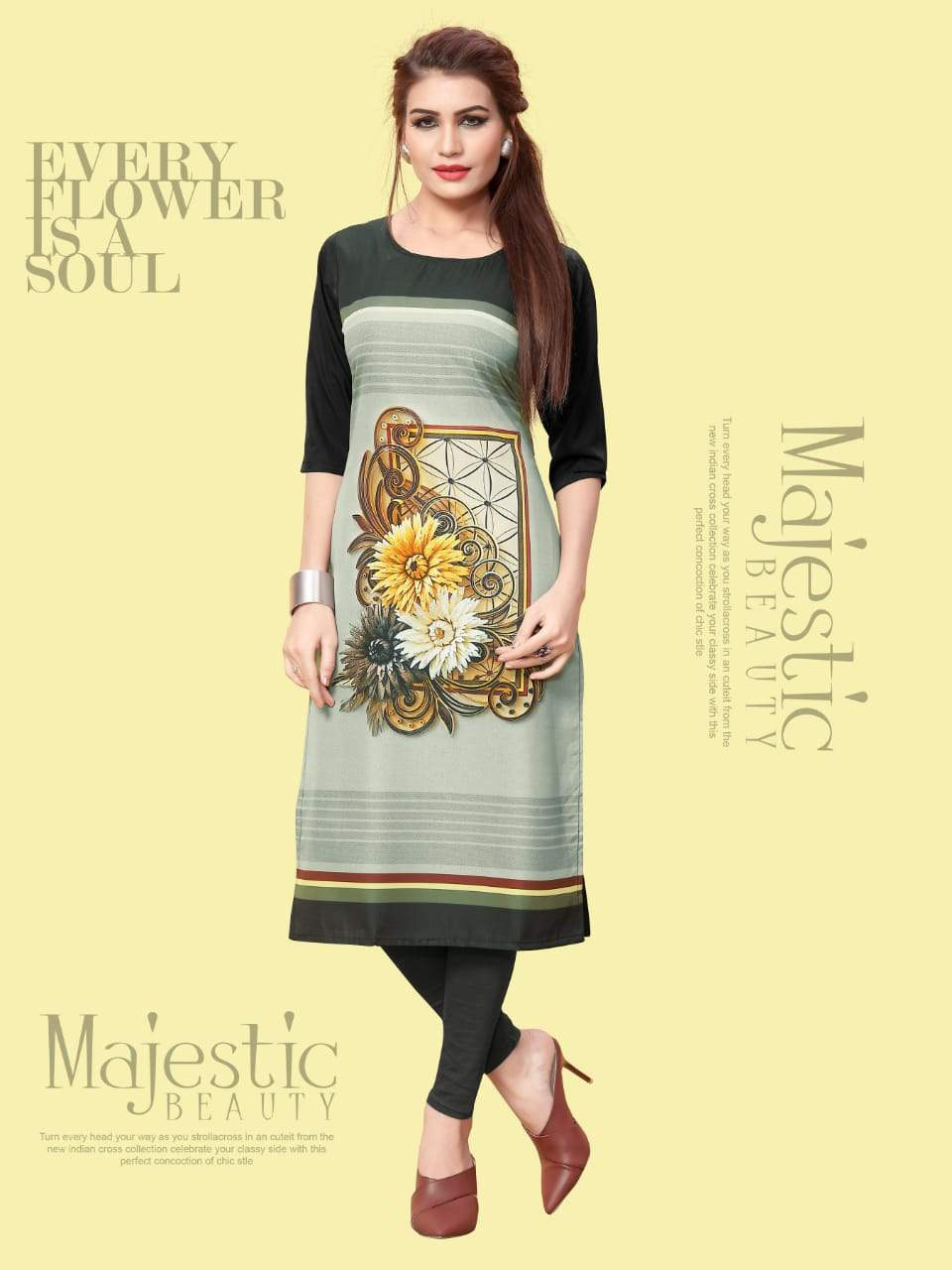 Ethnic Crepe Vol 10 collection 5