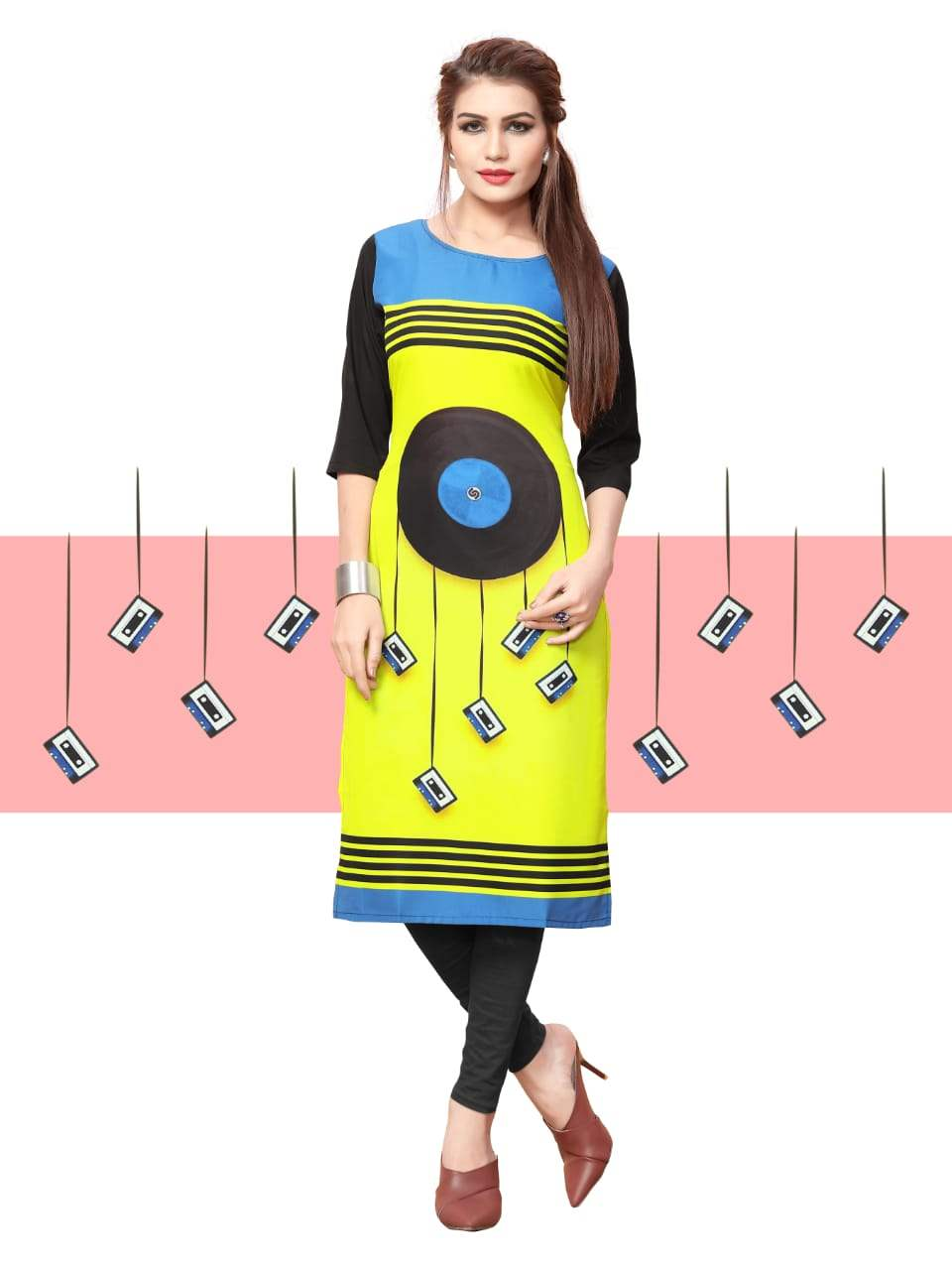 Ethnic Crepe Vol 10 collection 4