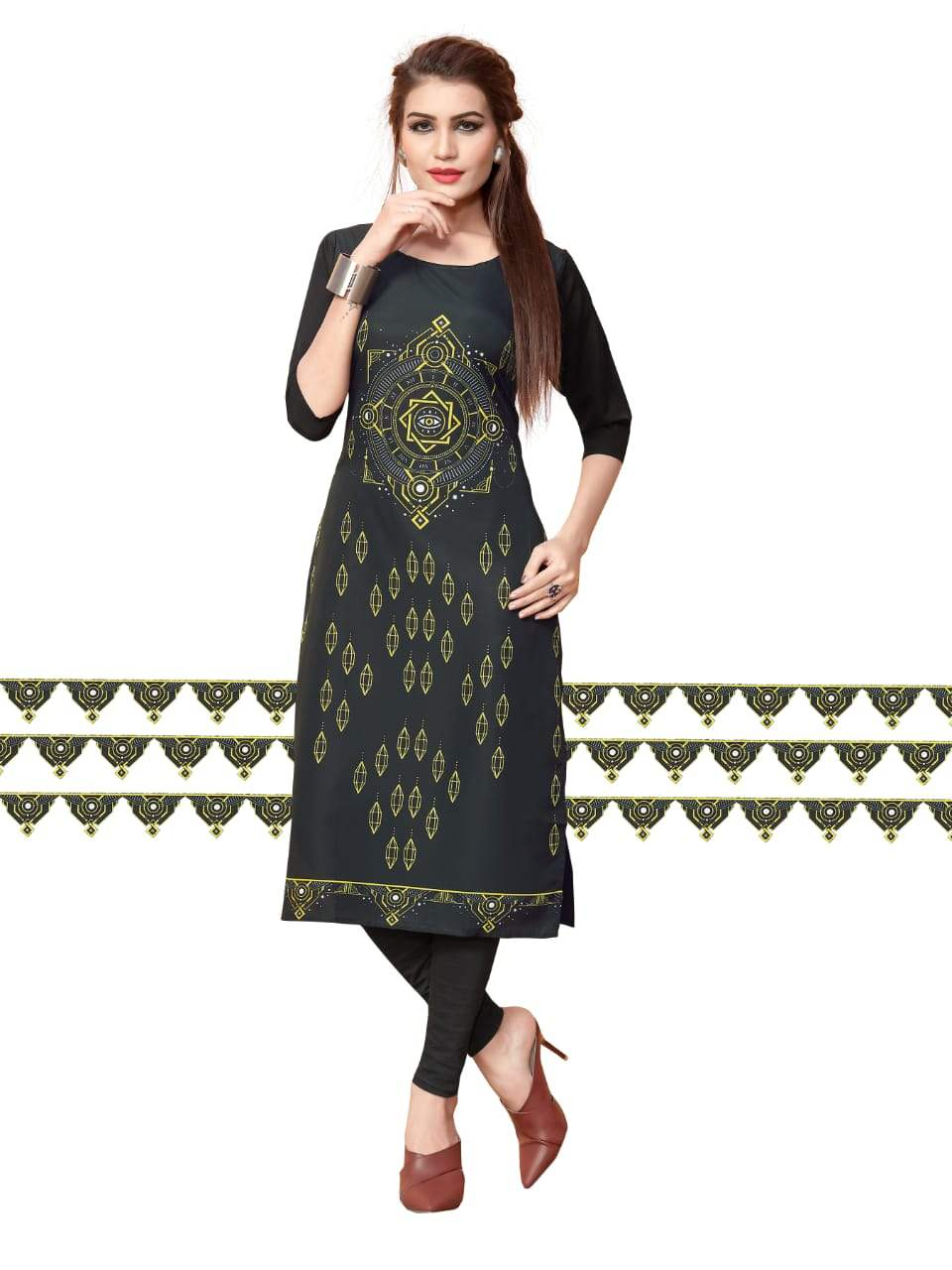 Ethnic Crepe Vol 11 collection 4